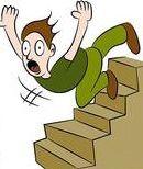 ladder fall