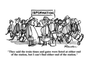 Confused Travelers