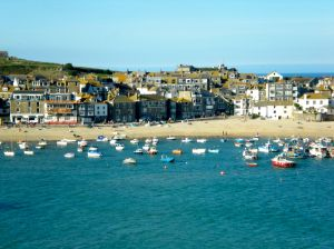 The harbor at St. Ives